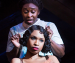 Cynthia Erivo / Jennifer Hudson in Color Purple (© Matthew Murphy)