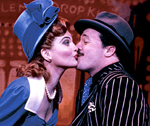 Nathan Lane in Guys And Dolls (© Martha Swope) und Funny Thing… (© Joan Marcus)